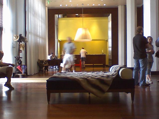 Lobby of the delano miami beach flickr photo sharing for Delano hotel decor