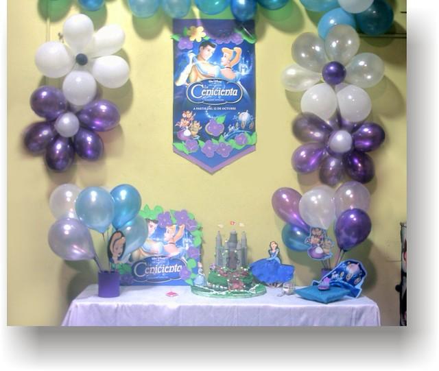 Belgrano alquiler ambientación de cumpleaños de Princesa Cenicienta ...