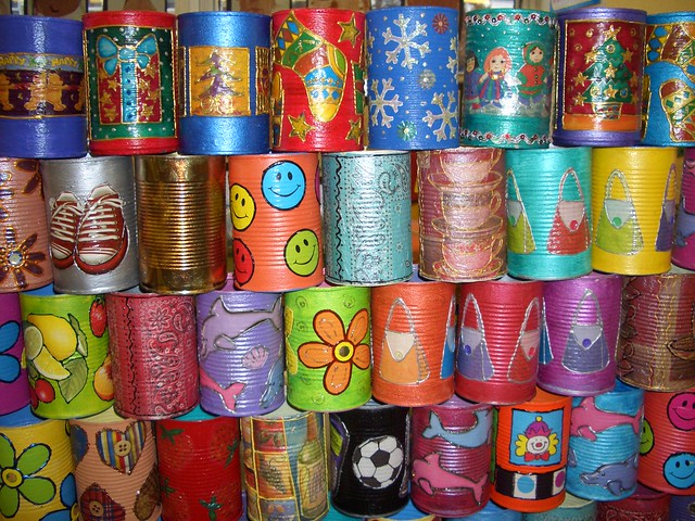 decorative tin cans 2 flickr photo sharing