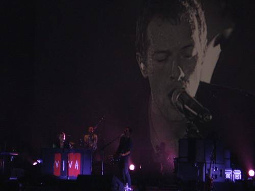Coldplay concert 08