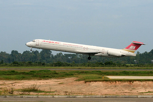 Angkor Airways' MD-83 at Siem Reap Airport (REP)