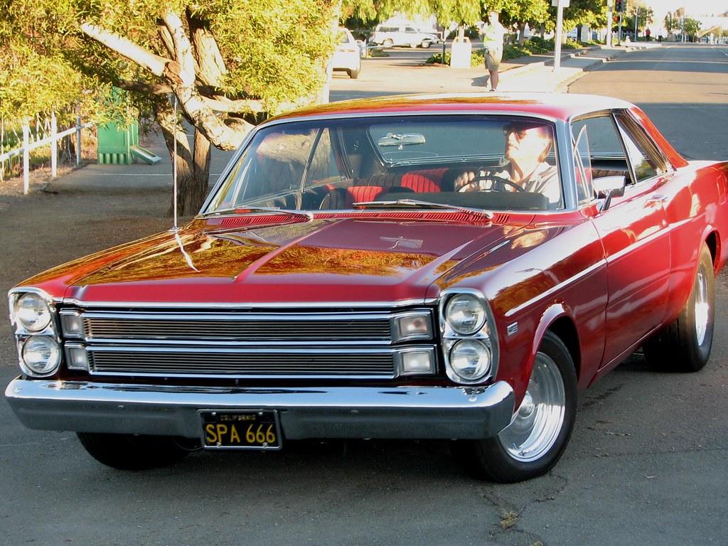 1966 Ford Galaxy 500 427 Hardtop Custom 39 Spa 666 39 1 A