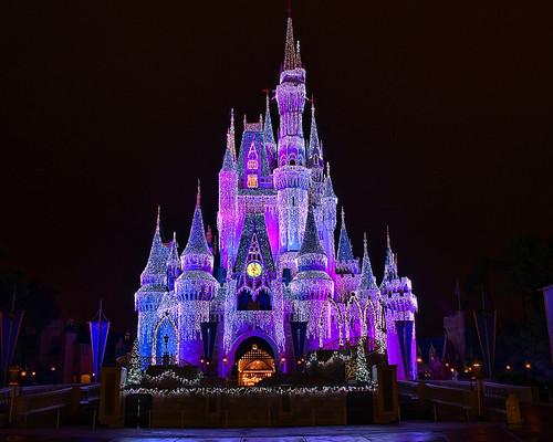 Disney - Cinderella Castle Dream Lights (Explored)