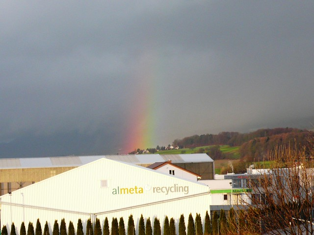 Rainbow in Bellach