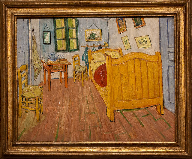 Van Gogh Museum The Bedroom 1888 This Reduced
