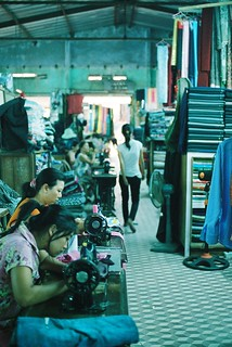 cloth market #1