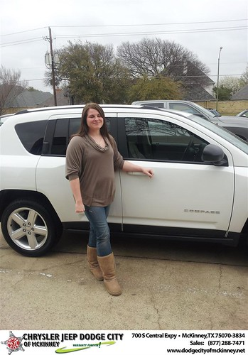 Happy Anniversary to D&M Auto Leasing on your 2013 #Jeep #Compass from Scott Arnold  and everyone at Dodge City of McKinney! #Anniversary by Dodge City McKinney Texas