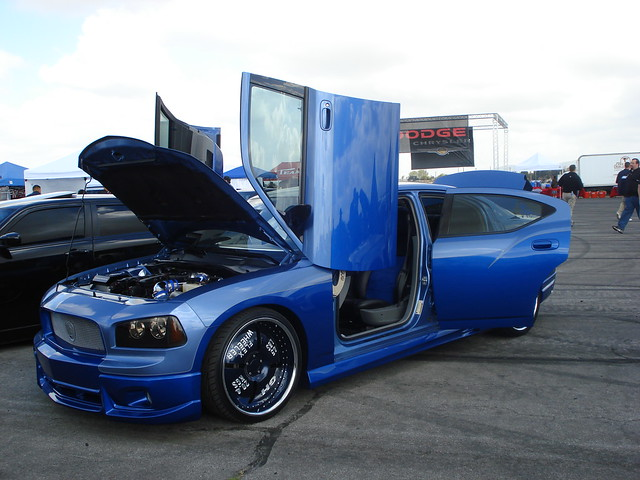 Spring Festival 08 Blue Flex Wheeler Dodge Charger