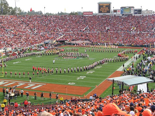 The University of Illinois Marching Band