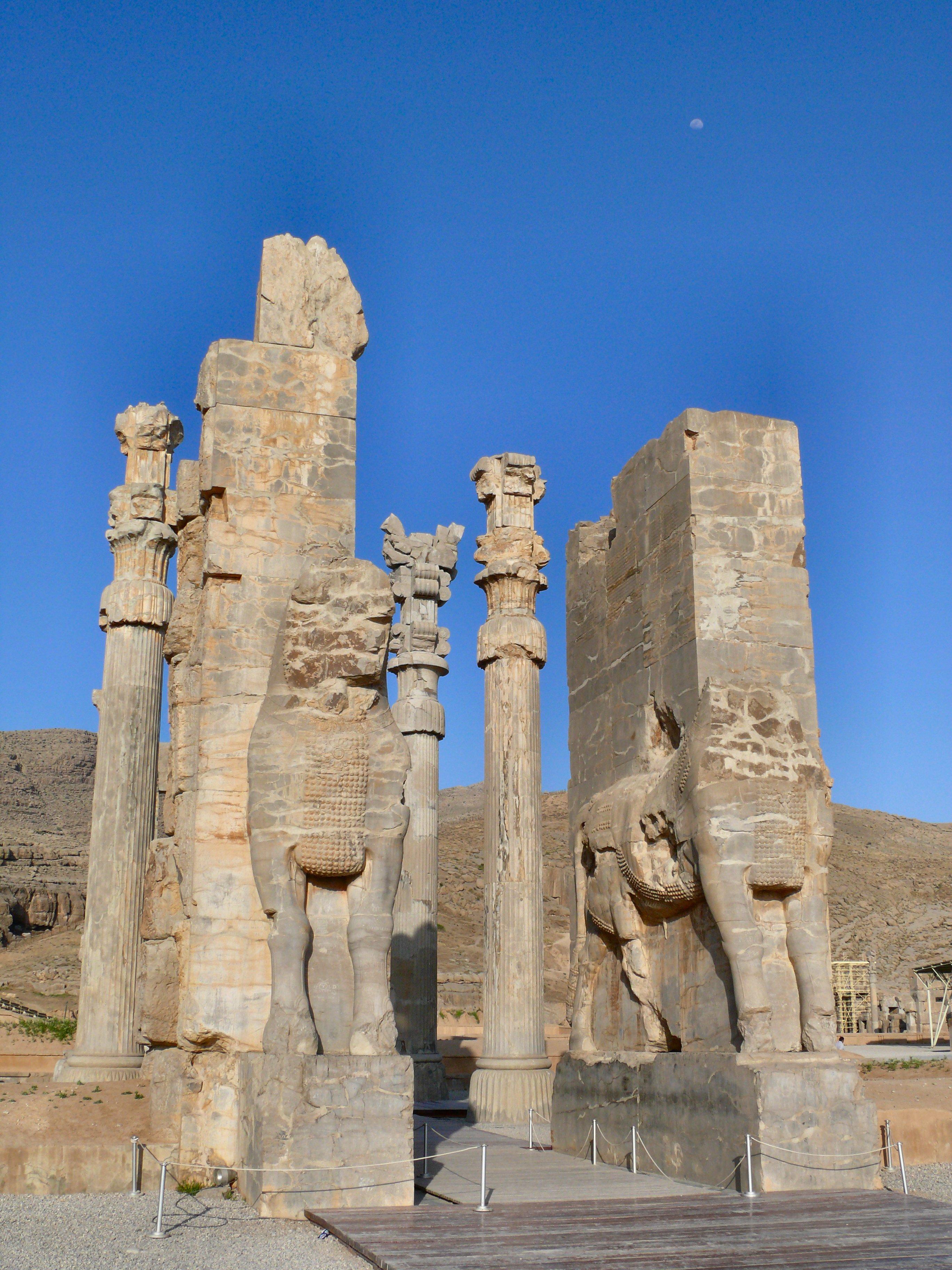 Elevation Of Persepolis Iran Topographic Map Altitude Map