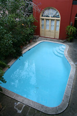backyard, swimming pool, property, jacuzzi,