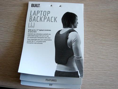 BUILT Laptop Backpack