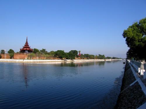 Mandalay Palace Moat - Mandalay, Myanmar (Burma)