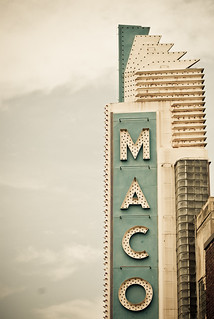 Maco Theater Sign