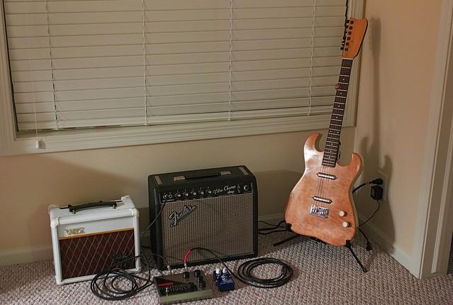 Bedroom Corner Guitar Rig July 2008 Flickr Photo Sharing. Guitar Bedroom  Boy Guitar Bedroom On Pinterest Guitar Decals And