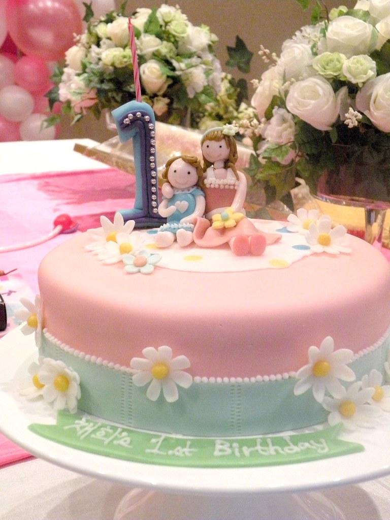 Chahee's 1st Birthday Cake