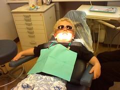 Caleb at the Dentist