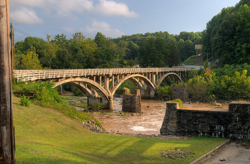 bridge river landscape virginia hdr martinsvillevirginia zd 1260mm