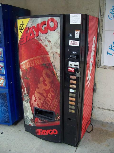 Faygo Red Pop Vending Machine Flickr Photo Sharing