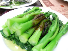 vegetable, choy sum, kai-lan, food, dish,