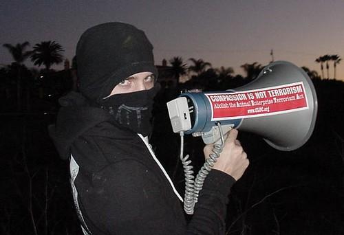 Bullhorn Not Eco-Terrorism