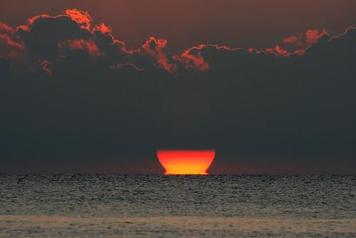sunset seascape newjersey searchthebest horizon bowl capemay canon100400 sunsetpoint sunonthewater canonxti impressedbeauty
