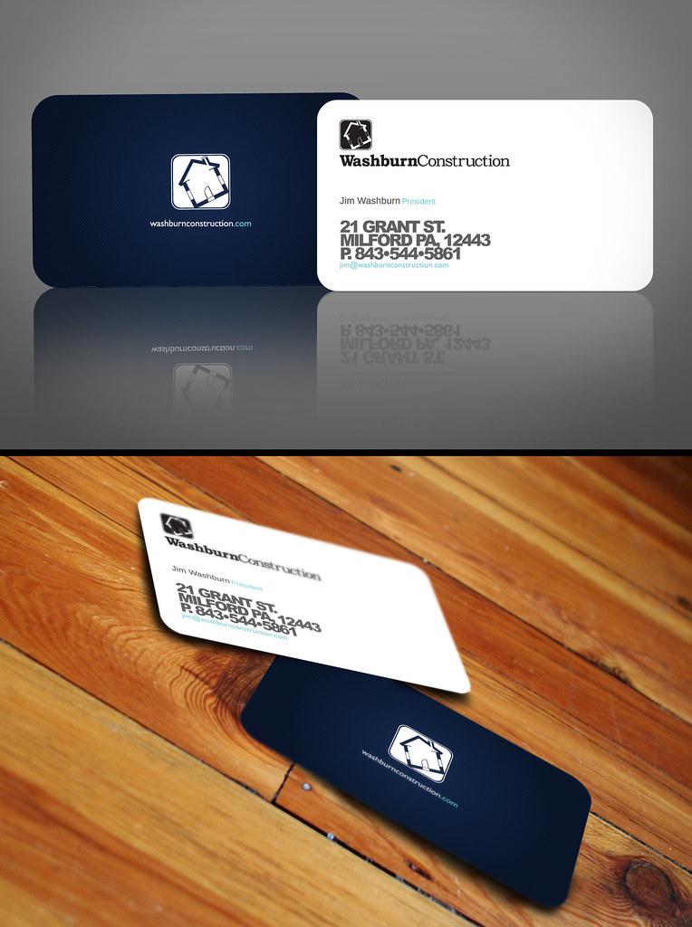 Washburn business card