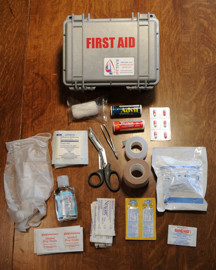 Sail22 First Aid Kit | Sail22 has put together a First Aid K… | Flickr