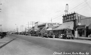 Newport Blvd., Costa Mesa, circa 1927