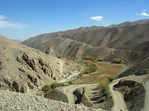 Road to Bamiyan, Afghanistan