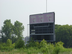 The abandoned Heritage Park in Colonie, New York