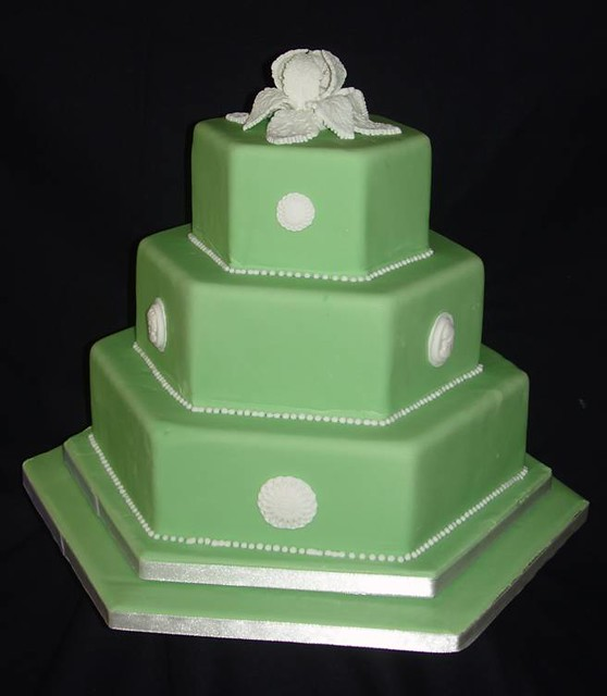 Wedding cakes designs wedgewood inspired flickr Wedgewood designs