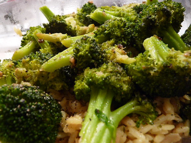 Rice Pilaf with Braised Broccoli | Flickr - Photo Sharing!