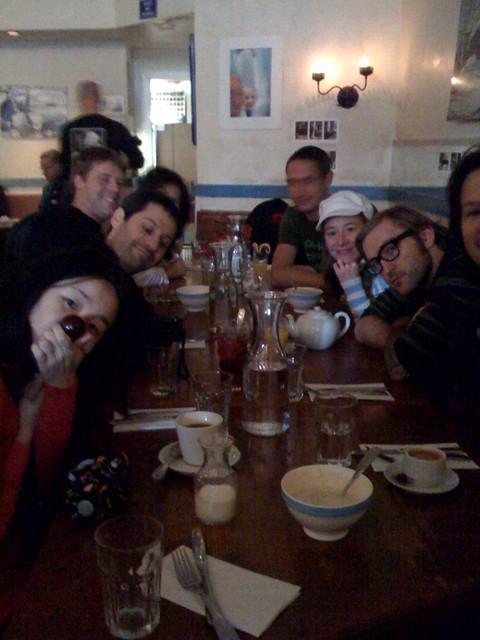 Brunch at Ti Couz, @CindyLi @Ori, @RR, @Ang, @Hooligan and @Tara December 14, 2008
