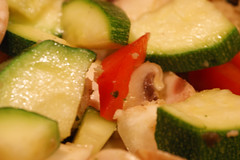salad, vegetable, vegetarian food, fruit, food, dish, zucchini, cuisine,