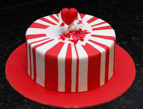 Valentine Cake Decorations Design : fondant valentines day cakes