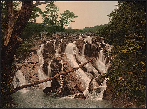 [Swallow Falls, Fairy Glen, Bettws-y-Coed (i.e. Betws), Wales] (LOC)