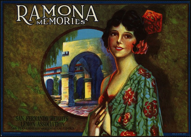 Ramona Memories: San Fernando Heights Lemon Ass'n., San Fernando, Los Angeles Co., California