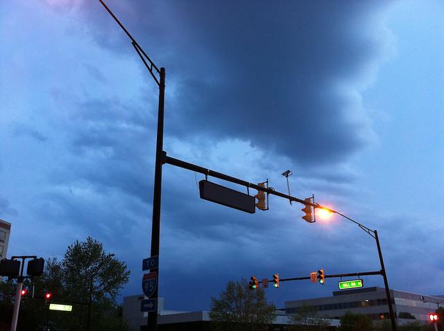 Dark Clouds Headed Toward Carlyle