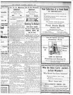 Lee Bruce ad 9-5-1913