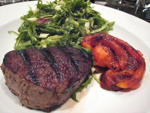 filet mignon, zone diet, green salad, roast… IMG_2275