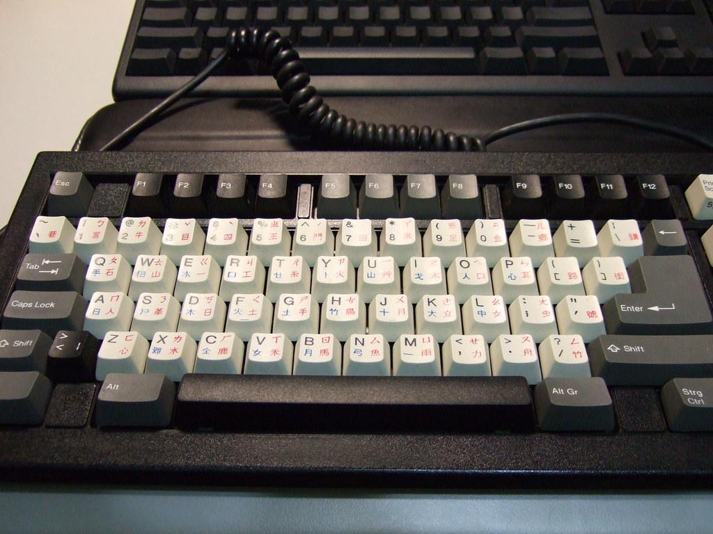 不知道是什麼鍵盤之一