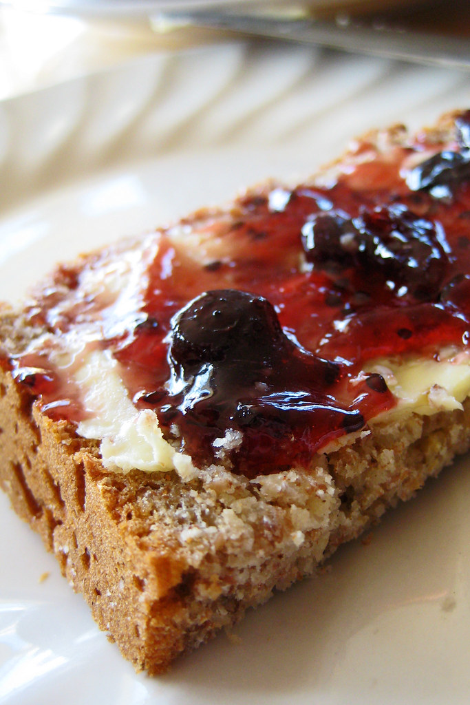 I quickly developed a taste for brown bread slathered in good Irish butter and jam.