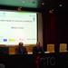 Presentación del curso de creación de empresas on-line  Presentación del curso de creación de empresas on-line con la presencia de 22 emprendedores procedentes de toda Galicia. En la foto, el director del Área de Pymes de la EOI, Jesús Santa-Olalla (i), y el director xeral de I+D+I de la Xunta de Galicia, Salustiano Mato (d). 12/05/08.