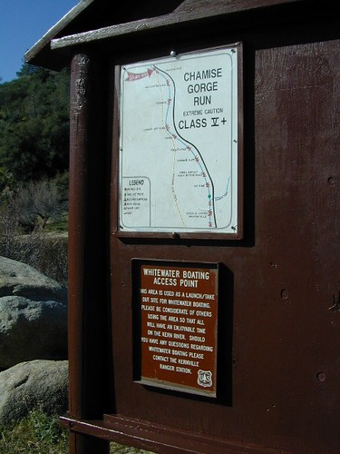 Rafting Site Kern River