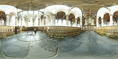 360-180 Choir of the Old Church Indoors