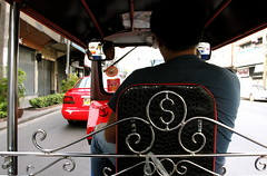 View from a Tuk-Tuk - Bangkok