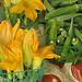 Okra + Squash Blossoms