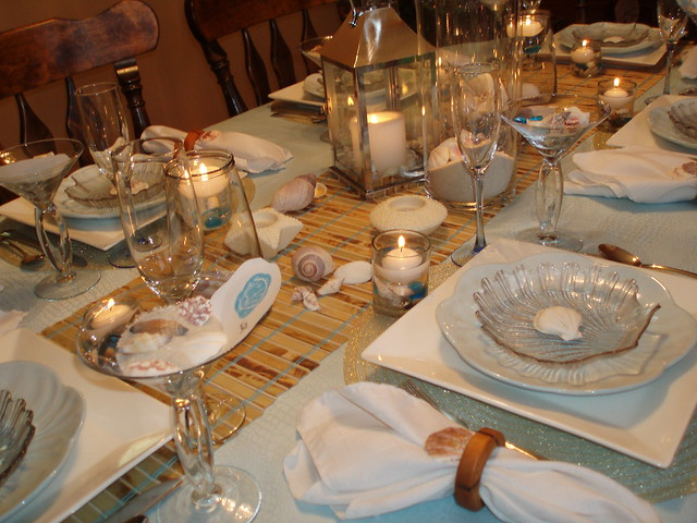 28 Beach Themed Tablescape Beach Themed Tablescape