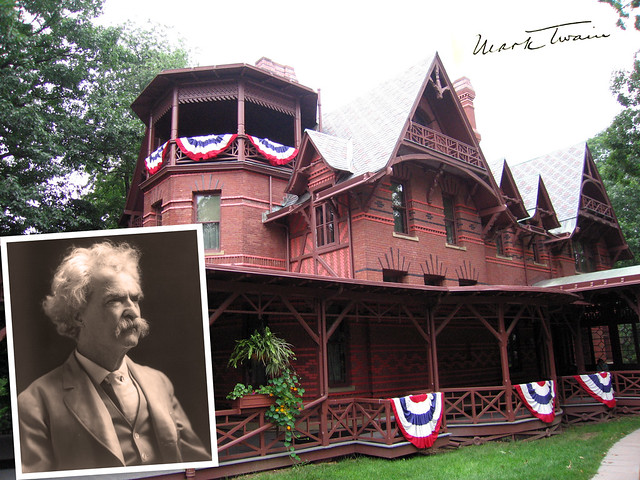Mark Twain His House In Hartford Ct Flickr Photo